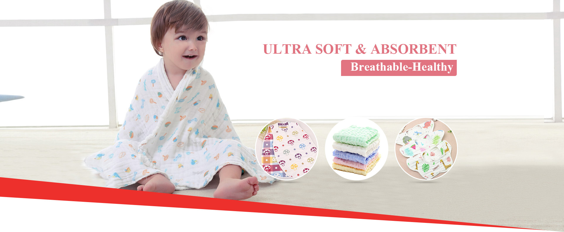 Baby Muslin Fabric & Products