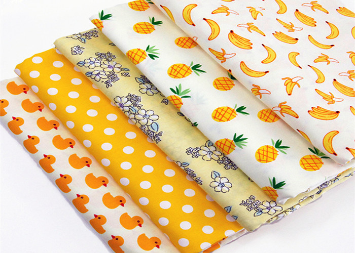 Plain Cotton Printed Fabric